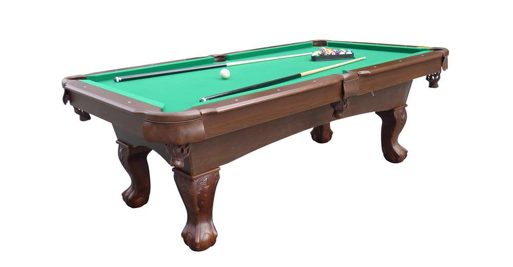 Medal Sports Springdale Ft Billiard Pool Table With Cue Set - Pool table description